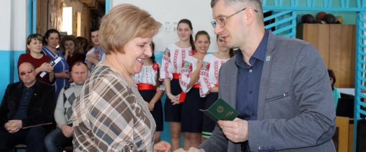 Юрий Молдовский принял участие в торжественном мероприятии, посвященном чествованию Ветеранов труда