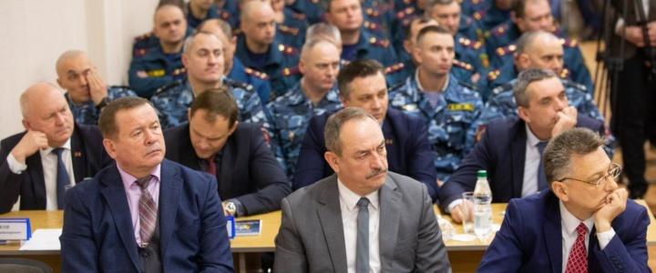 Вячеслав Фролов принял участие в заседании Коллегии МВД