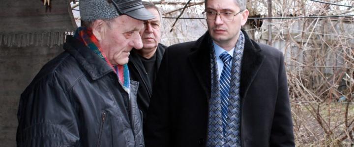 Юрий Молдовский навестил семьи погибших воинов-интернационалистов