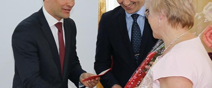 Глава госадминистрации поздравил коллектив детского сада с юбилеем