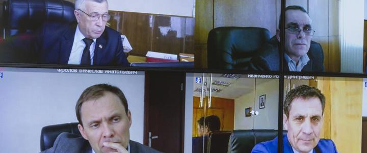Глава госадминистрации принял участие в селекторном совещании с Председателем Правительства