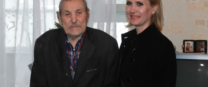 Ветеран Павел Хлыстал отметил 95-й день рождения