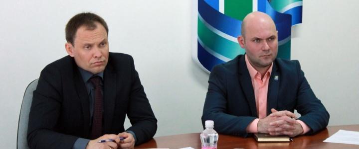 Вячеслав Фролов провёл аппаратное совещание с руководителями городских предприятий и учреждений