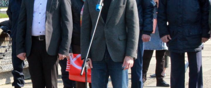 Вячеслав Фролов поприветствовал юных патриотов Приднестровья