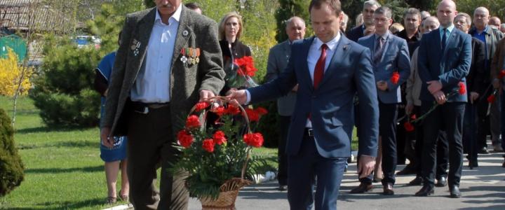 В Рыбнице почтили память участников ликвидации последствий аварии на ЧАЭС