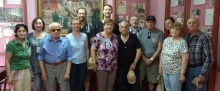 Музей Боевой славы принимает иностранных гостей