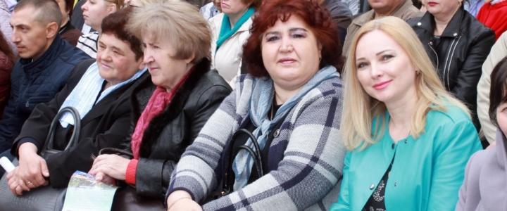 В День международной солидарности трудящихся в Рыбнице состоялся митинг