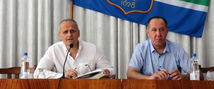 В Рыбнице состоялось заседание сессии горрайсовета народных депутатов