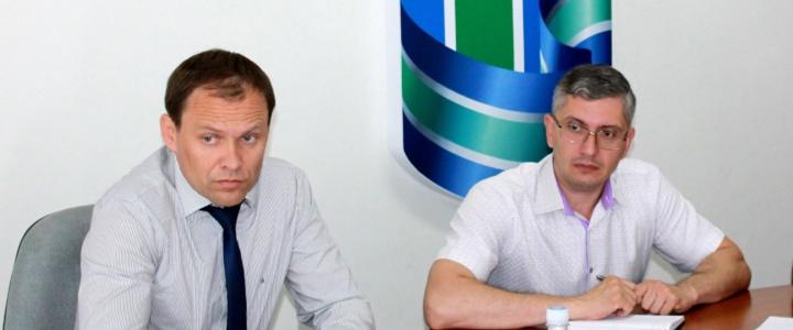 Вячеслав Фролов провел еженедельное аппаратное совещание