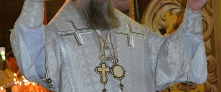 Архиепископ Тираспольский и Дубоссарский Савва возглавил праздничное богослужение в Иоанно-Предтеченском мужском монастыре
