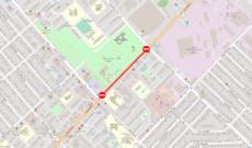 22 июля автомобильное движение в Рыбнице будет местами ограничено