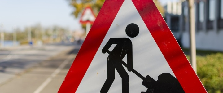 Дорожные работы начались по ул. Вальченко
