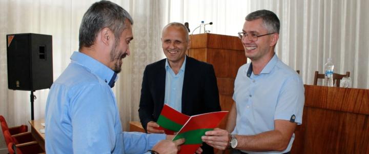 В Рыбнице прошло торжественное собрание, посвященное 28-ой годовщине образования Гражданской защиты ПМР