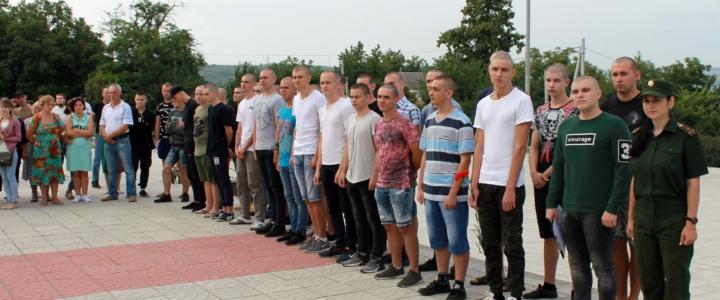 Рыбницкие новобранцы отправились на службу в армию