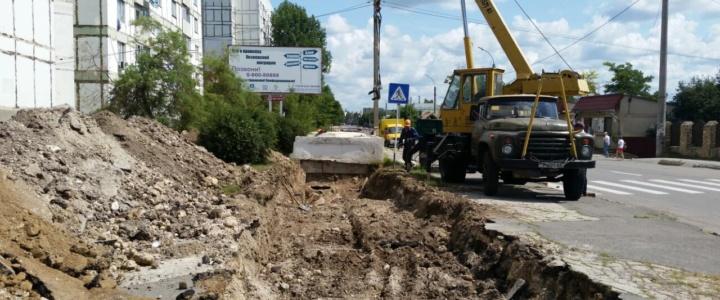 """Рыбницкий филиал """"Тирастеплоэнерго""""  начал ремонт магистральных трубопроводов"""