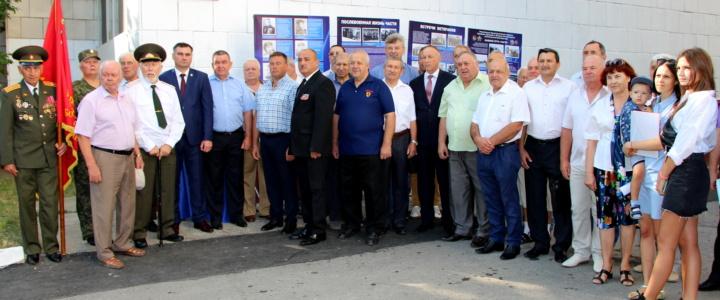 В честь 75-летия Ясско-Кишинёвской операции в городе и районе открыты мемориальные доски