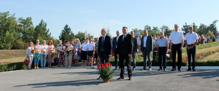 В Рыбнице почтили память защитников Приднестровья