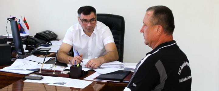 Виктор Тягай провёл приём граждан