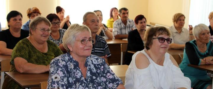 В Рыбнице стартовали компьютерные курсы для пожилых людей
