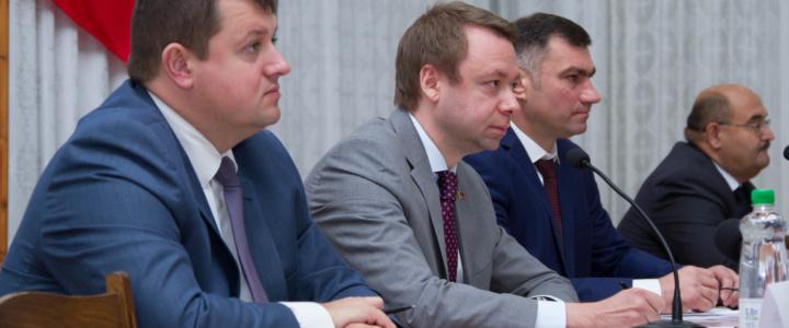Александр Мартынов пообщался с жителями Рыбницы и Рыбницкого района