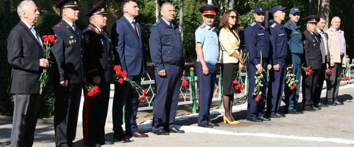 Сотрудники Рыбницкого ОВД отметили 28-ю годовщину со дня образования подразделения