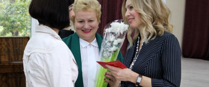 В преддверии Дня учителя в Северной столице чествовали лучших педагогов