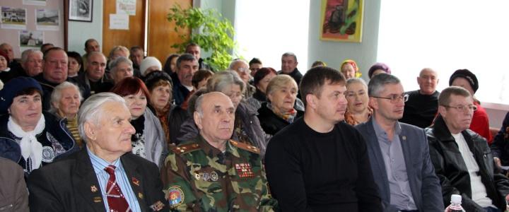 В Рыбницком Совете ветеранов выбрали нового председателя