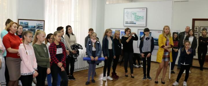 Работы членов Союза архитекторов Приднестровья представлены в выставочном зале картинной галерее