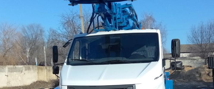 На  предприятии  «ЖЭУК г. Рыбница» появилась новая автовышка