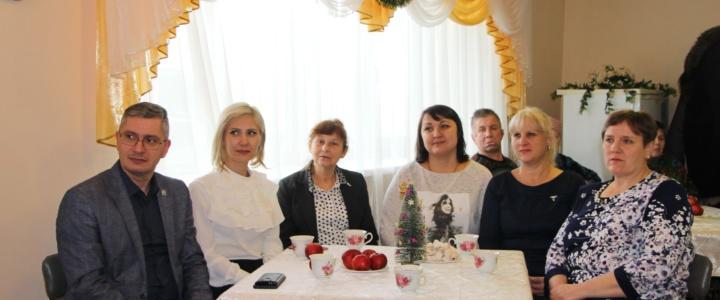 В доме для одиноких престарелых и инвалидов прошел праздничный концерт «Бабушкины святки»