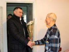 Участнику Великой Отечественной Войны Василию Пешкуну исполнилось 95 лет