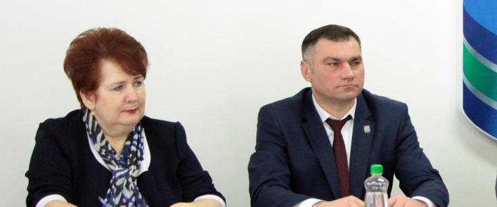 Министр по социальной защите и труду Елена Куличенко посетила Рыбницу