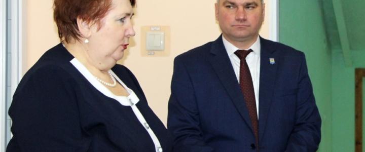 Глава района и министр по соцзащите и труду проинспектировали рыбницкую коррекционную школу