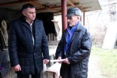 Виктор Тягай навестил семьи погибших воинов-интернационалистов