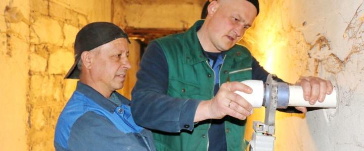 Работы по капремонту сетей водоснабжения и водоотведения будут возобновлены по завершению режима ЧС