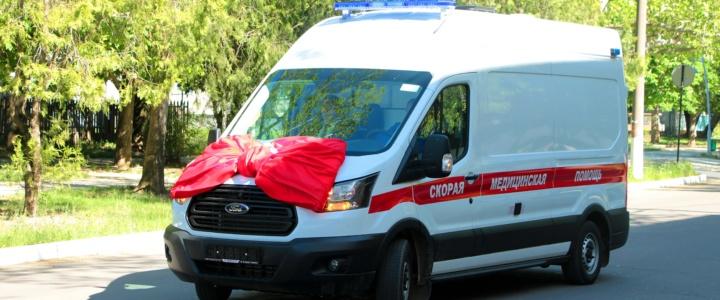 Новый автомобиль скорой помощи приехал в Рыбницу