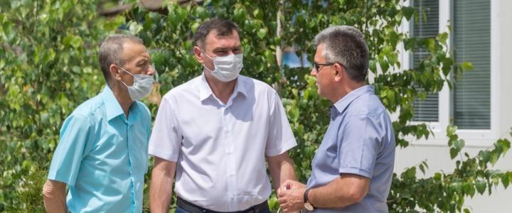 Президент посетил Рыбницкий район