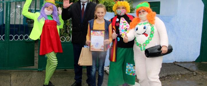 В Рыбнице наградили призёров конкурсов, посвященных Дню защиты детей