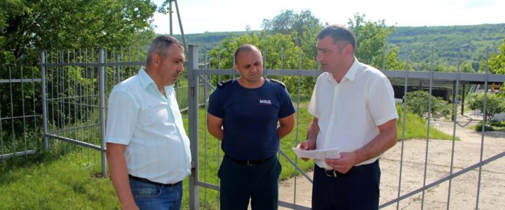 В Рыбнице создан территориальный штаб по предотвращению угрозы возникновения паводков