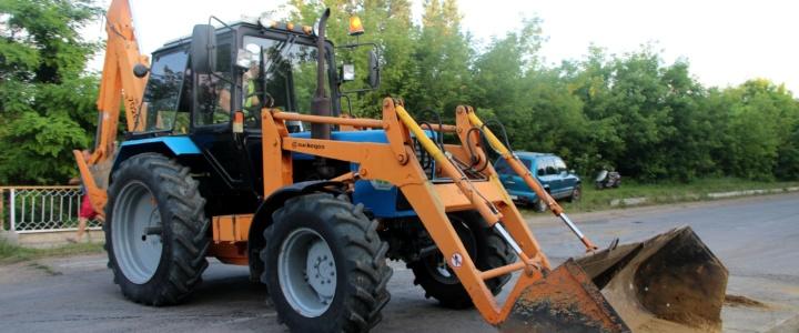В Рыбницком районе проходят мероприятия по предотвращению затопления жилых зон