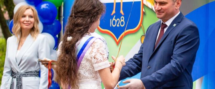 В Рыбнице состоялась церемония чествования выпускников