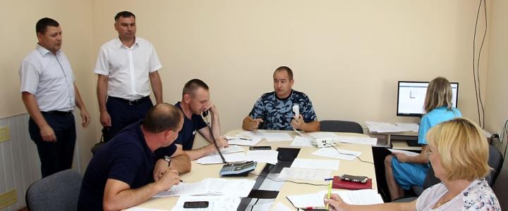 Виктор Тягай проинспектировал работу ситуационного центра