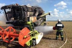 От соблюдения правил пожарной безопасности зависит сохранность урожая