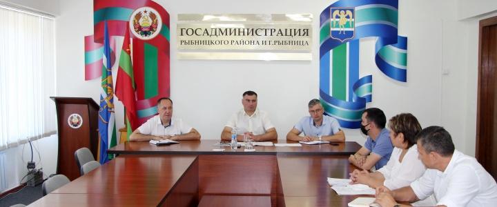 Открытие COVID-лаборатории обсудили на совещании у главы госадминистрации
