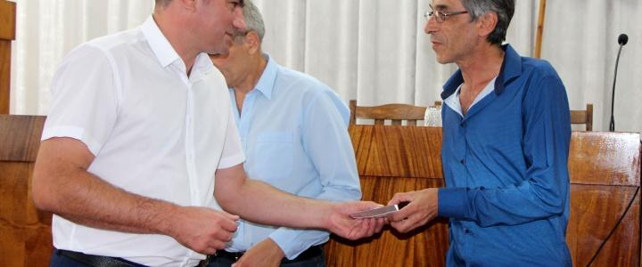 Рыбничане отмечены юбилейными медалями  «30 лет  Приднестровской  Молдавской  Республики»