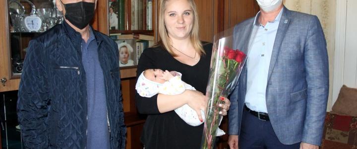 В День Республики в Рыбнице родился малыш