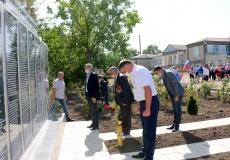 В селе Мокра открыли Мемориал Славы