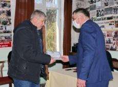 Глава госадминистрации поздравил Союз защитников ПМР с наступающим праздником