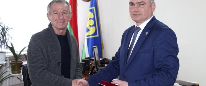 Анатолию Криворученко присвоено почетное звание «Заслуженный работник Приднестровской Молдавской Республики»