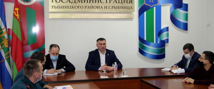 Глава госадминистрации  призвал все городские службы к оперативной и слаженной работе